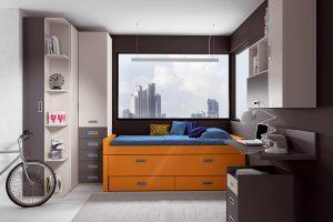 Dormitorio Juvenil Robledo. Dormitorio Juvenil Moderno Muebles Díaz