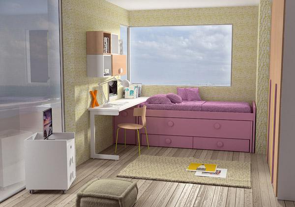 Dormitorio Juvenil Collado. Dormitorio Juvenil Moderno Muebles Díaz