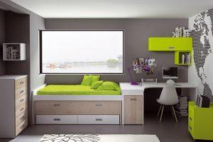 Dormitorio Juvenil Eljas. Dormitorio Juvenil Moderno Muebles Díaz