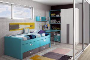Dormitorio Juvenil Escurial. Dormitorio Juvenil Moderno Muebles Díaz