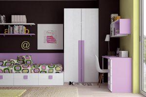 Dormitorio Juvenil Fresneda. Dormitorio Juvenil Moderno Muebles Díaz