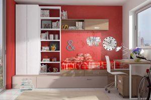 Dormitorio Juvenil Galiste. Dormitorio Juvenil Moderno Muebles Díaz
