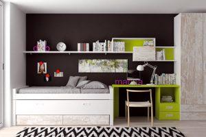 Dormitorio Juvenil Garvín. Dormitorio Juvenil Moderno Muebles Díaz