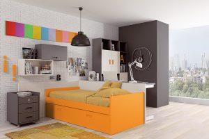 Dormitorio Juvenil Gata. Dormitorio Juvenil Moderno Muebles Díaz