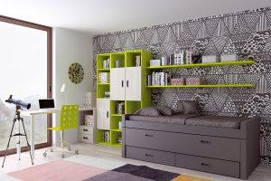 Dormitorio Juvenil Guadalupe. Dormitorio Juvenil Moderno Muebles Díaz