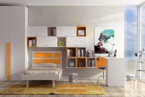 Dormitorio Juvenil Hoyos. Dormitorio Juvenil Moderno Muebles Díaz