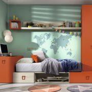 Dormitorio Juvenil Orduña. Dormitorio Juvenil con Armario Box Muebles Díaz