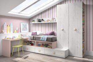 Dormitorio Juvenil Amboto. Dormitorio Juvenil con Armario Box Muebles Díaz