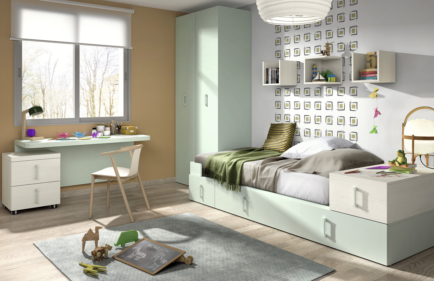 Dormitorio Juvenil Cant Brico Muebles D Azmuebles D Az # Muebles Nervion