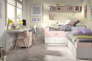 Dormitorio Juvenil Limpias. Dormitorio Juvenil Cama Rincón Muebles Díaz