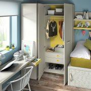 Dormitorio Juvenil Cuencas. Dormitorio Juvenil Nido Puertas Corredera Muebles Díaz