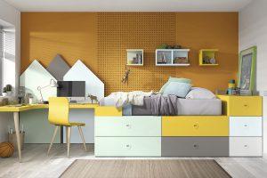 Dormitorio Juvenil Lunada. Dormitorio Juvenil Sistema Box Muebles Díaz