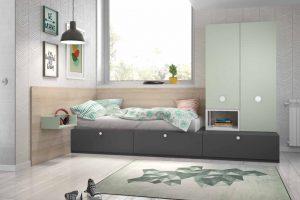 Dormitorio Juvenil Barraco. Dormitorio Juvenil Diseño Muebles Díaz