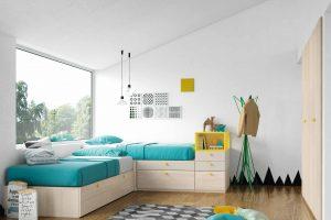 Dormitorio Juvenil Bercial. Dormitorio Juvenil Diseño  Muebles Díaz