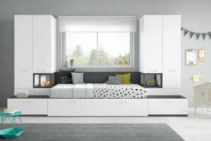 Dormitorio Juvenil Bonilla. Dormitorio Juvenil Diseño  Muebles Díaz