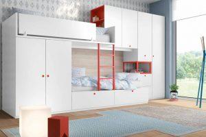 Dormitorio Juvenil Brabos. Dormitorio Juvenil Tren Muebles Díaz