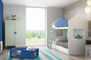 Litera Infantil Hornillo. Dormitorio Juvenil Litera Casa. Muebles Díaz