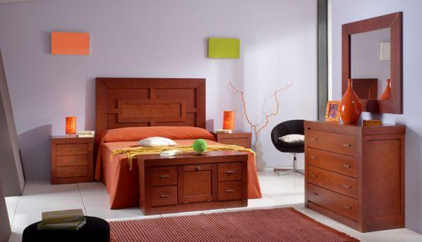 Dormitorio Rústico  Colonial Campillo Dormitorio Rustico Colonial Muebles Díaz