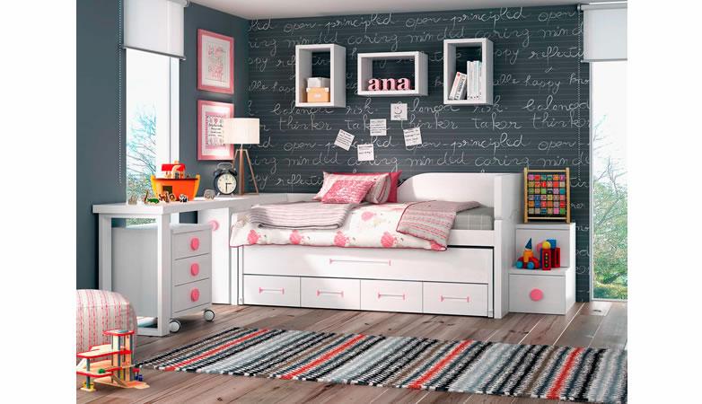 Juvenil compacto cajones carlota muebles d azmuebles d az - Muebles serafin la carlota ...