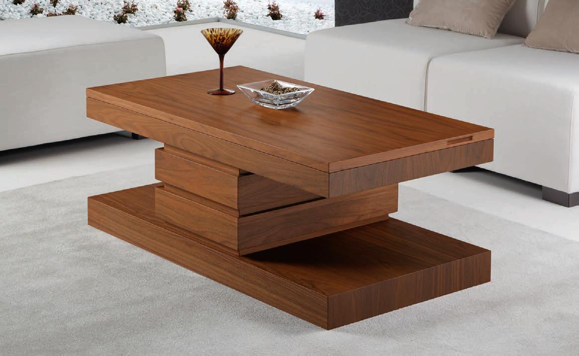 Mesa centro moderna borox muebles d azmuebles d az for Mesas de comedor cuadradas modernas