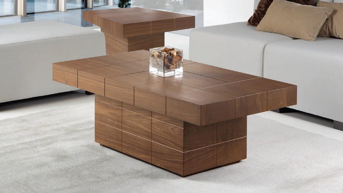 Mesa centro moderna yepes muebles d azmuebles d az - Mesas de centro estrechas ...