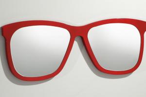 Espejo Carranque. Espejo Forma Gafas. Muebles Díaz