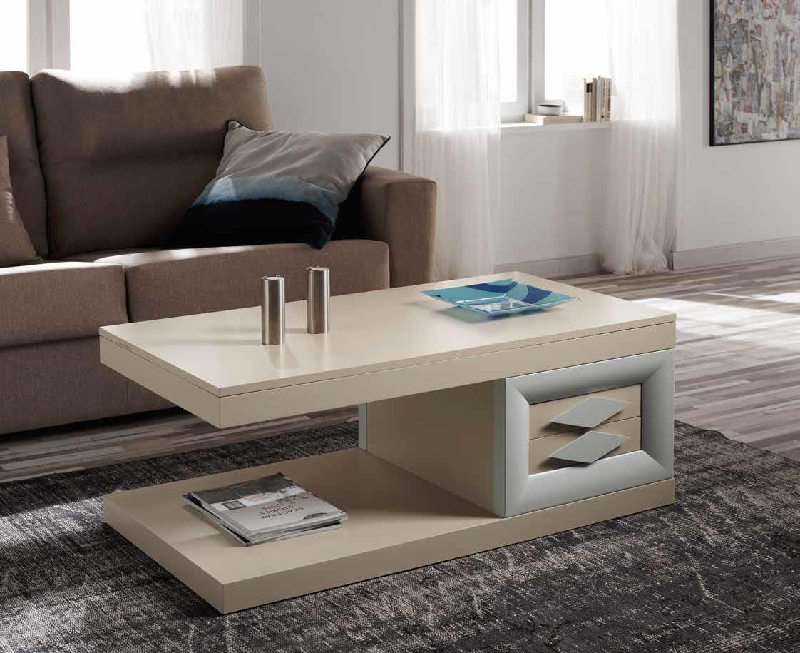 Mesa centro moderna cuerva muebles d azmuebles d az for Muebles diaz