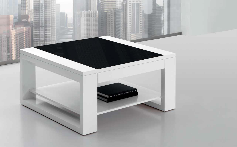 Mesa centro moderna cuadrada mejorada muebles for Mesa cuadrada moderna