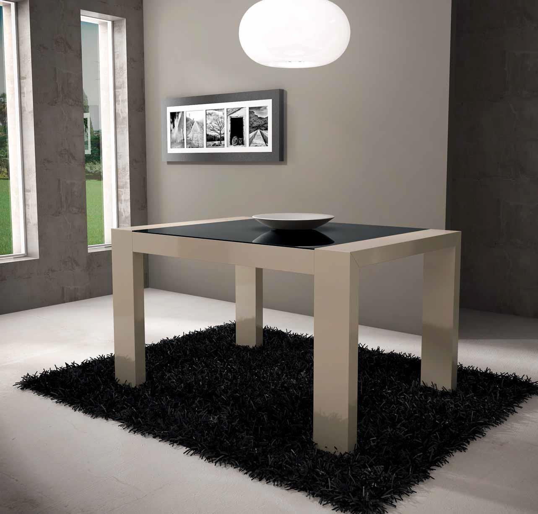 Mesa comedor moderna menasalbas muebles d azmuebles d az - Mesas de comedor de cristal modernas ...