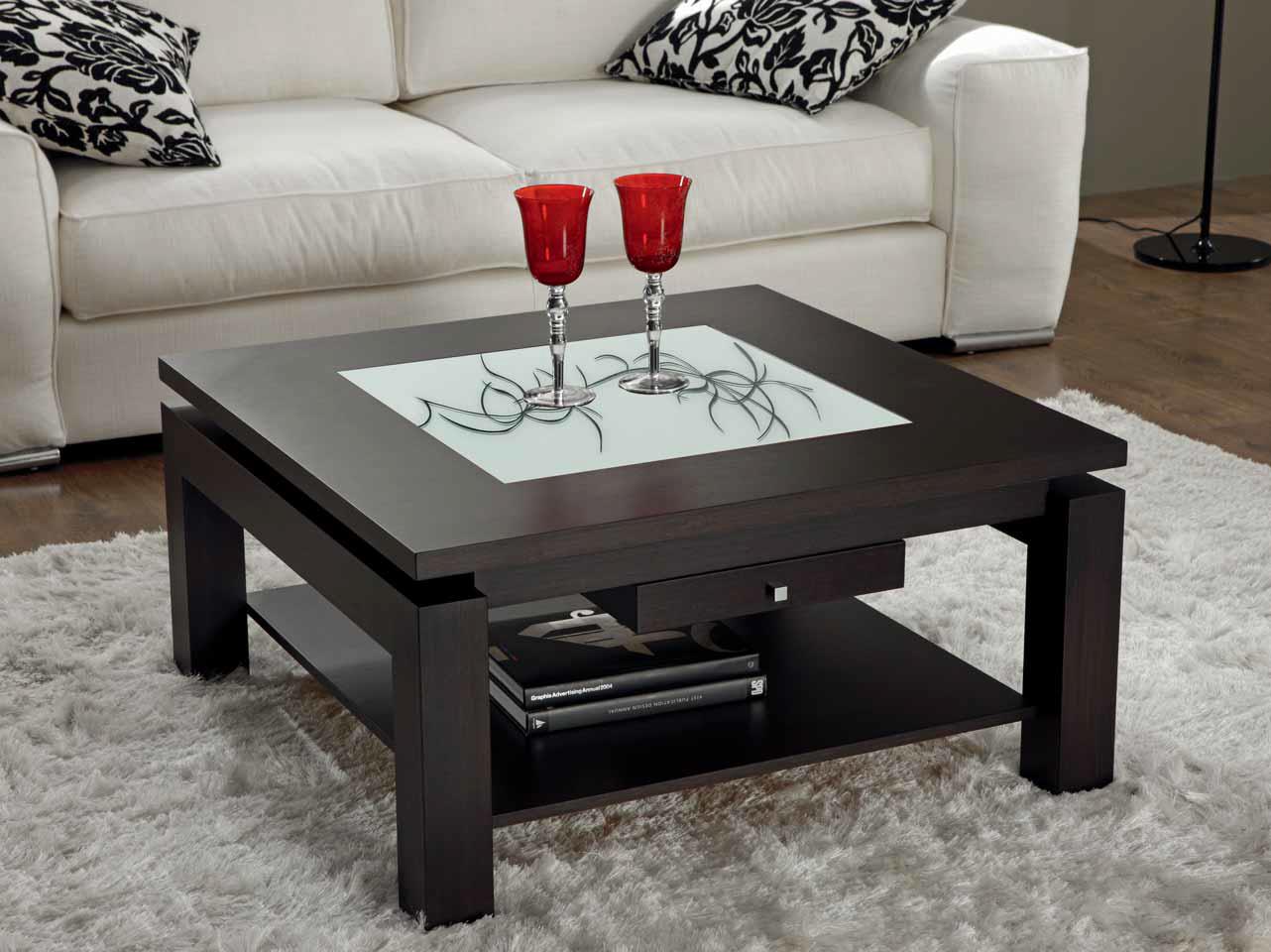 Transforma tu mesa centro moderna en mesa comedor en for Mesa cuadrada moderna