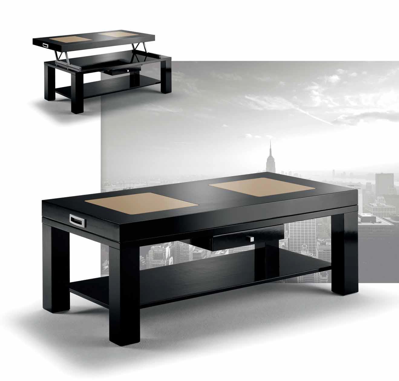 Mesa centro moderna navalmorales muebles d azmuebles d az for Muebles diaz