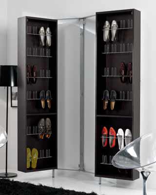 Zapatero con espejo romeral muebles d azmuebles d az for Mueble para zapatos con espejo