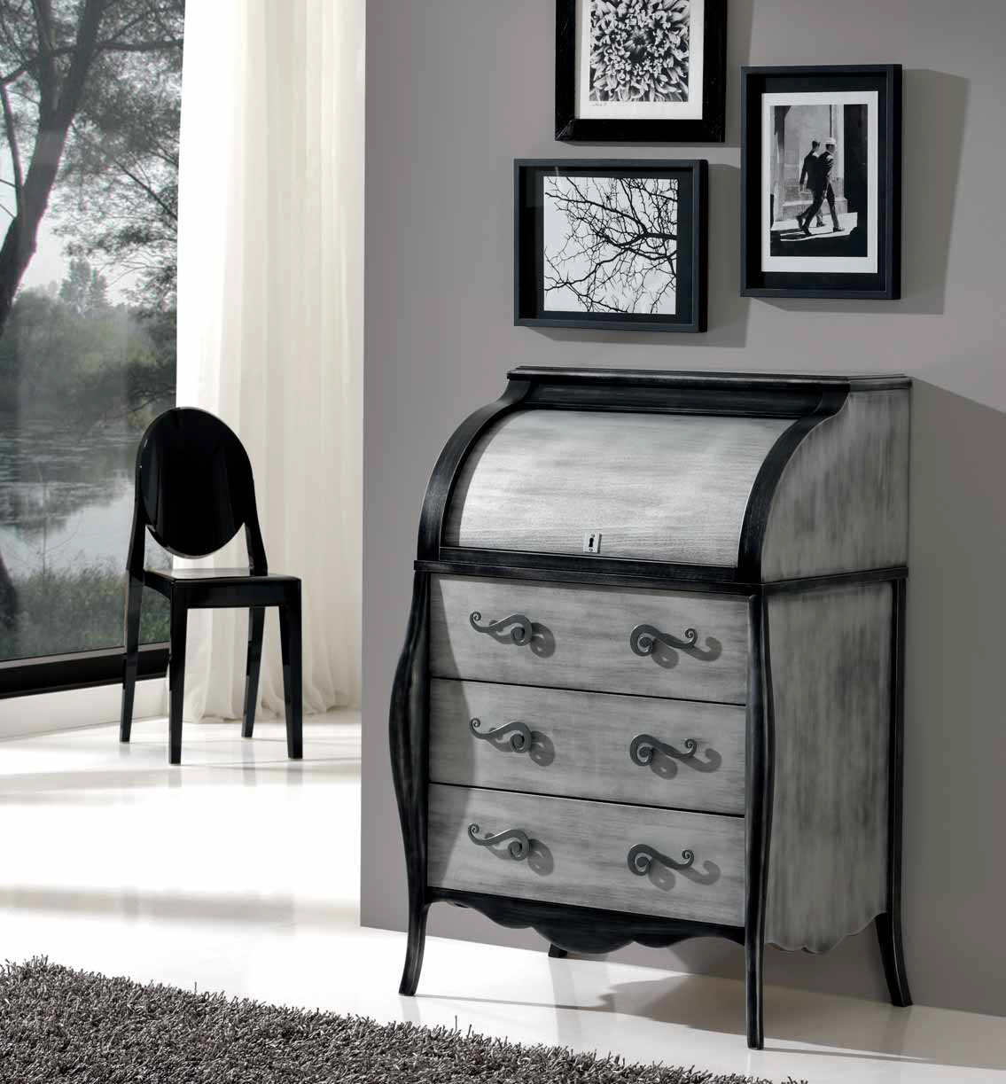 Bur escritorio valmojado muebles d azmuebles d az for Muebles diaz