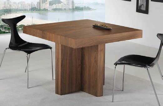 Mesa comedor extensible alcobendas muebles d azmuebles d az - Mesas comedor cuadradas extensibles ...