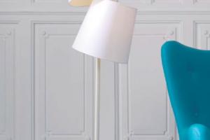 Lámpara Pie Ottawa. Lámpara Pie Diseño Muebles Díaz