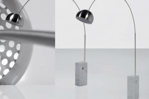 Lámpara Pie Praga. Lámpara Pie Diseño Muebles Díaz