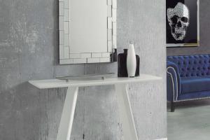 Consola Moderna Yakarta. Consola Lacada Diseño Muebles Díaz
