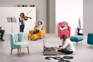 Sillón Infantil Noruega. Sillónes Infantiles Diseño Muebles Díaz