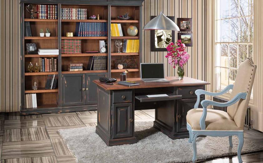 Despacho Vintage Vaticano. Conjunto Muebles Despacho en Vintage Muebles Díaz