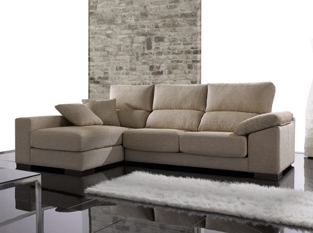 Chaiselongue Arroyomolinos. Chaiselongue con Asientos Deslizantes Muebles Díaz