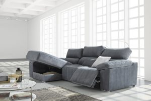 Chaiselongue Belvis. Chaiselongue con Relax con Motores. Muebles Díaz