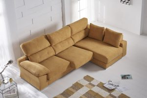 Chaiselongue Cáceres. Chaiselongue con Asenetos Deslizantes Muebles Díaz