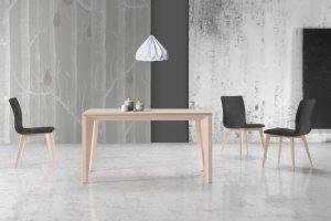 Mesa Comedor Moderna Bullaque. Mesa Comedor Diseño Rectangular Muebles Díaz