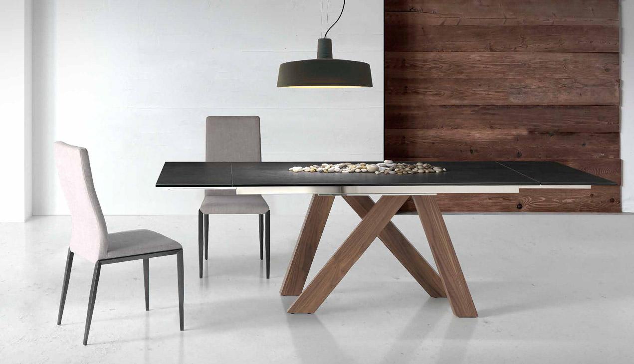 Mesa comedor moderna estena muebles d azmuebles d az Mesas de comedor modernas extensibles