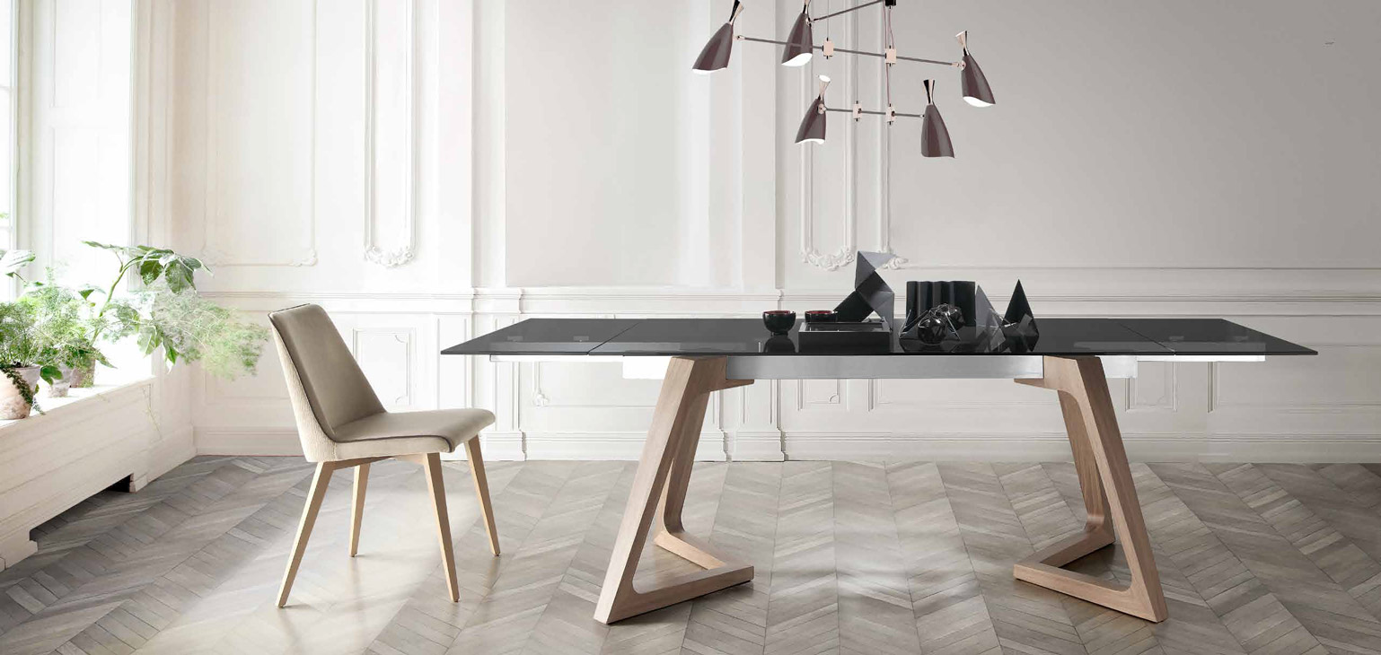 Mesa comedor moderna guadelemar muebles d azmuebles d az for Modelos de mesas de comedor modernas