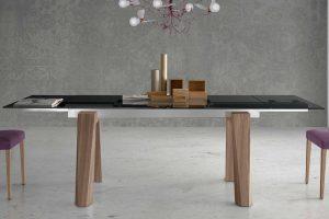 Mesa Comedor Moderna Esteras. Mesa Comedor Cristal Diseño Muebles Díaz