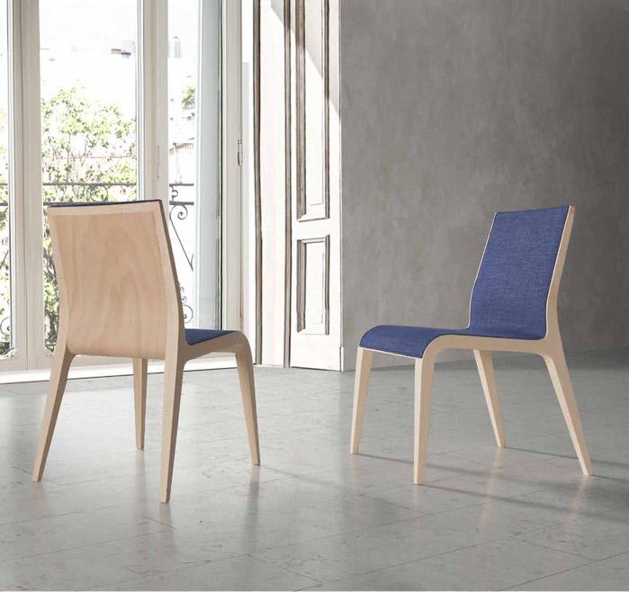 silla tapizada diseño tinto. - muebles díazmuebles díaz - Muebles Diseno Nordico