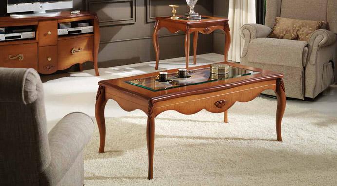 Mesa centro cl sica elevable almagro muebles - Muebles en almagro ...
