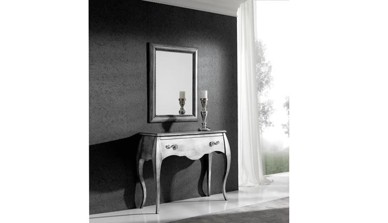 Recibidor moderno neoclasico almanzora muebles for Muebles padul