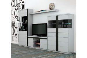 Mueble Apilable Moderno Lacado Sanlucar. Mueble Apilable Salón Moderno Lacado Muebles Díaz